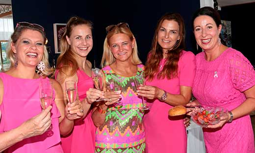 Pink Ribbon Charity Frühstück im Yacht Hotel in Velden