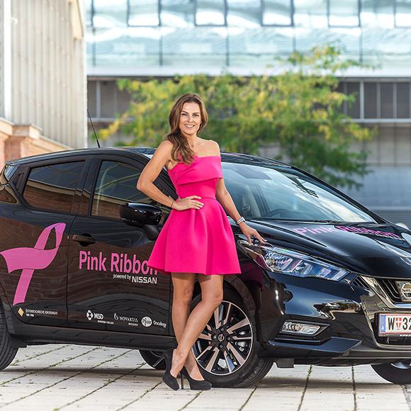 Bettina Assinger Pink Ribbon Botschafterin