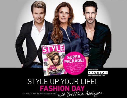 STYLE UP YOUR LIFE! – 25. und 26. Mai 2018