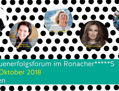 3. Frauenerfolgsforum im Ronacher*****S