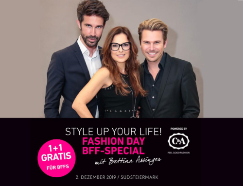 DER STYLE UP YOUR LIFE! FASHION DAY – BFF-SPECIAL mit Bettina Assinger – 2. Dez. 2019